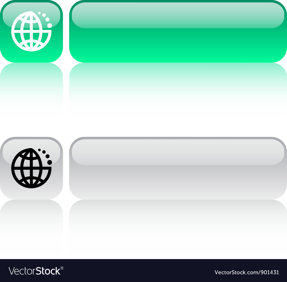 Internet web button vector | Price: 1 Credit (USD $1)
