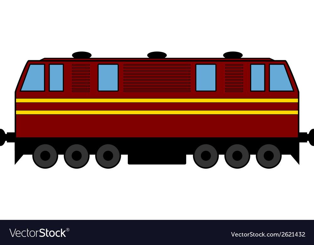 Locomotive vector | Price: 1 Credit (USD $1)