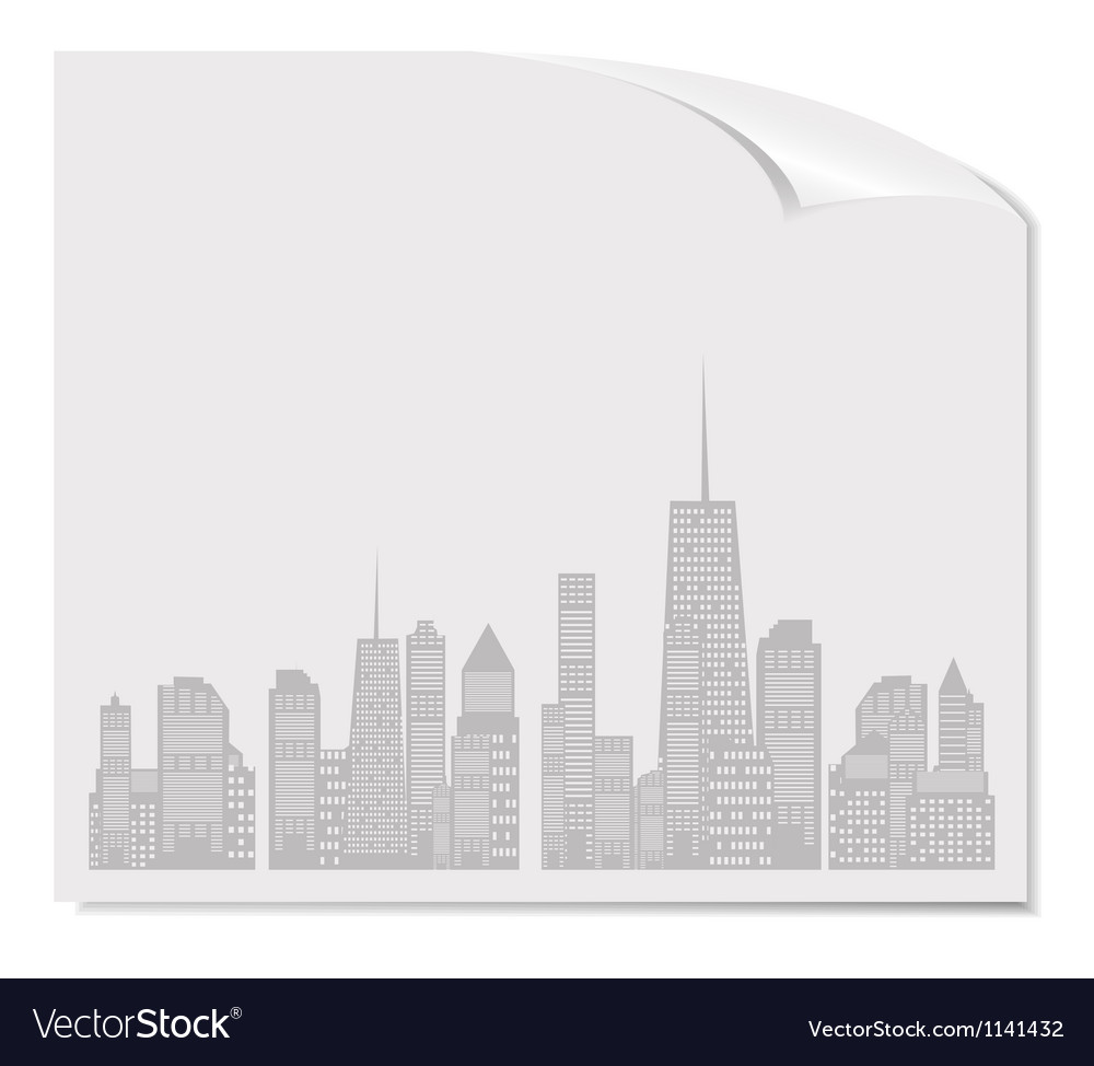 White blank page vector | Price: 1 Credit (USD $1)