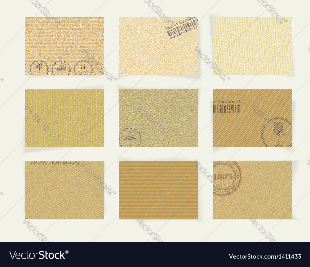Abstract vintage old paper banners vector | Price: 1 Credit (USD $1)