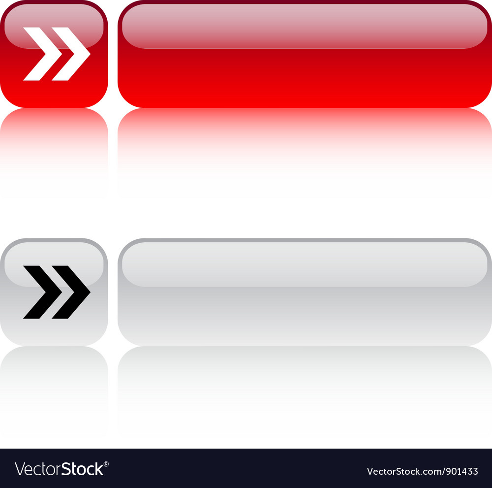 Forward arrow square button vector | Price: 1 Credit (USD $1)