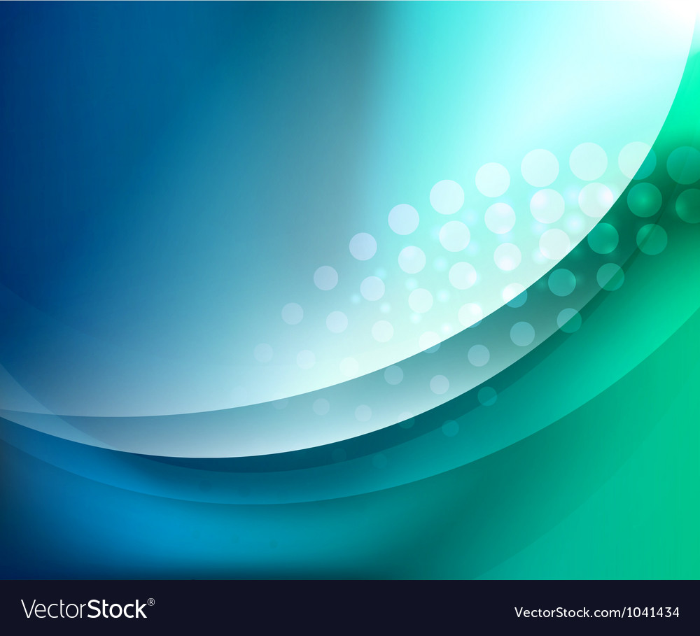 Aqua waves abstract background vector | Price: 1 Credit (USD $1)
