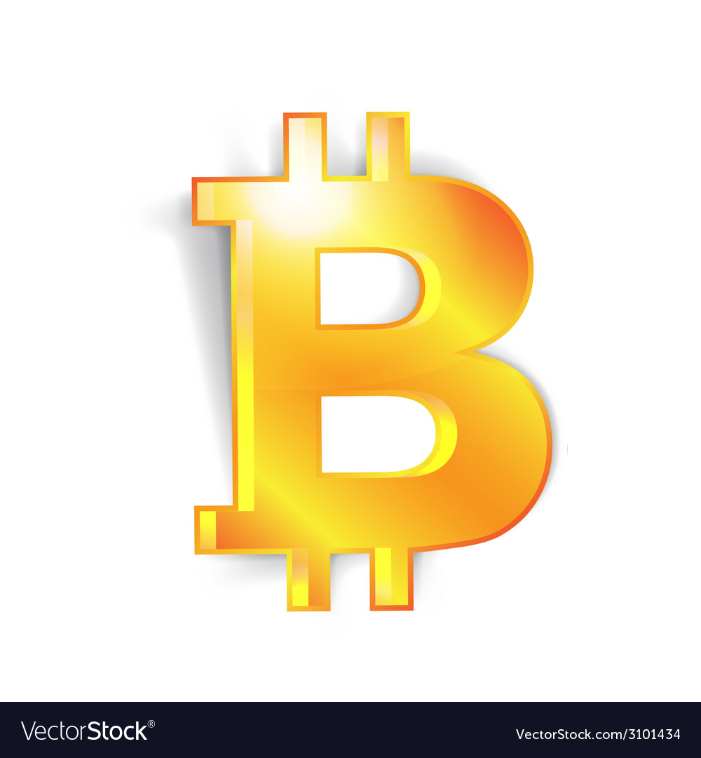 Bitcoin currency signs vector | Price: 1 Credit (USD $1)
