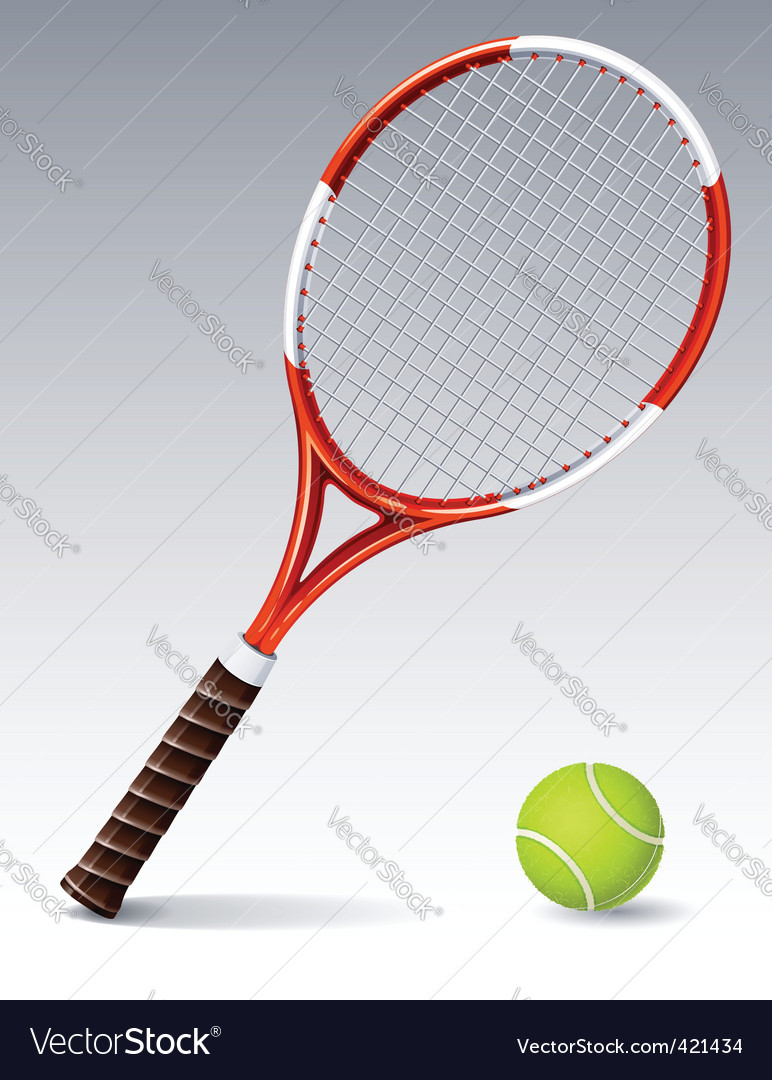 Tennis racket vector | Price: 1 Credit (USD $1)