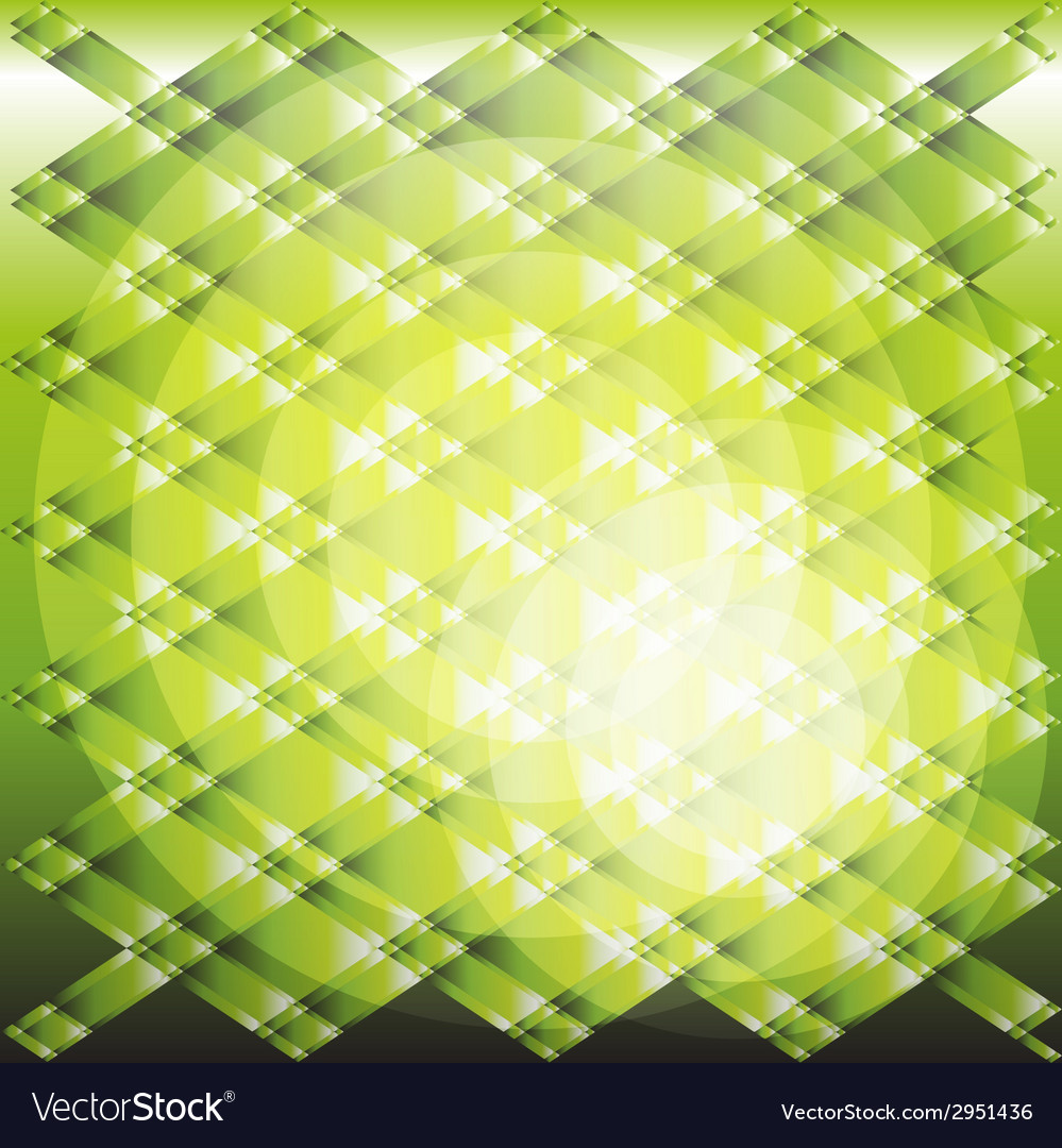 Green circle light gradient plaid texture vector | Price: 1 Credit (USD $1)