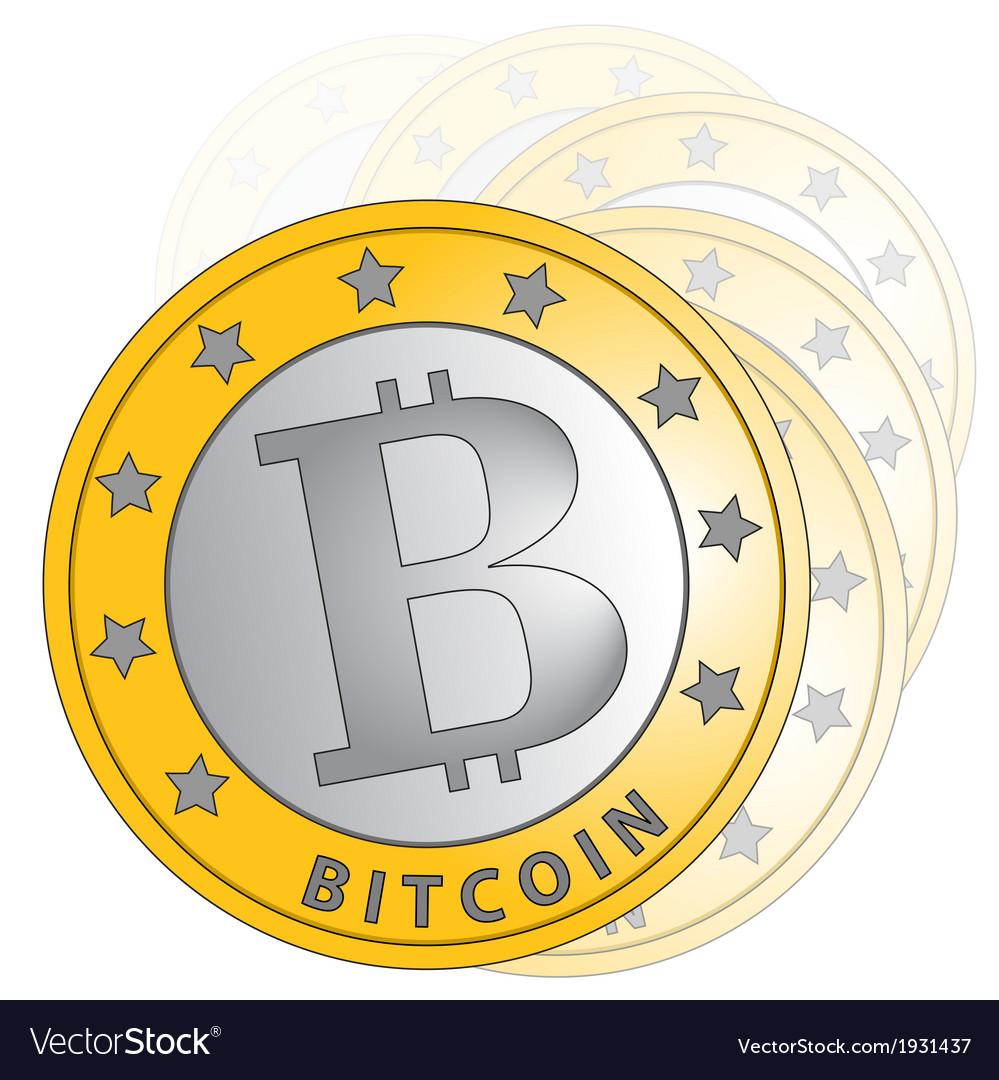 Bitcoin gradation vector | Price: 1 Credit (USD $1)
