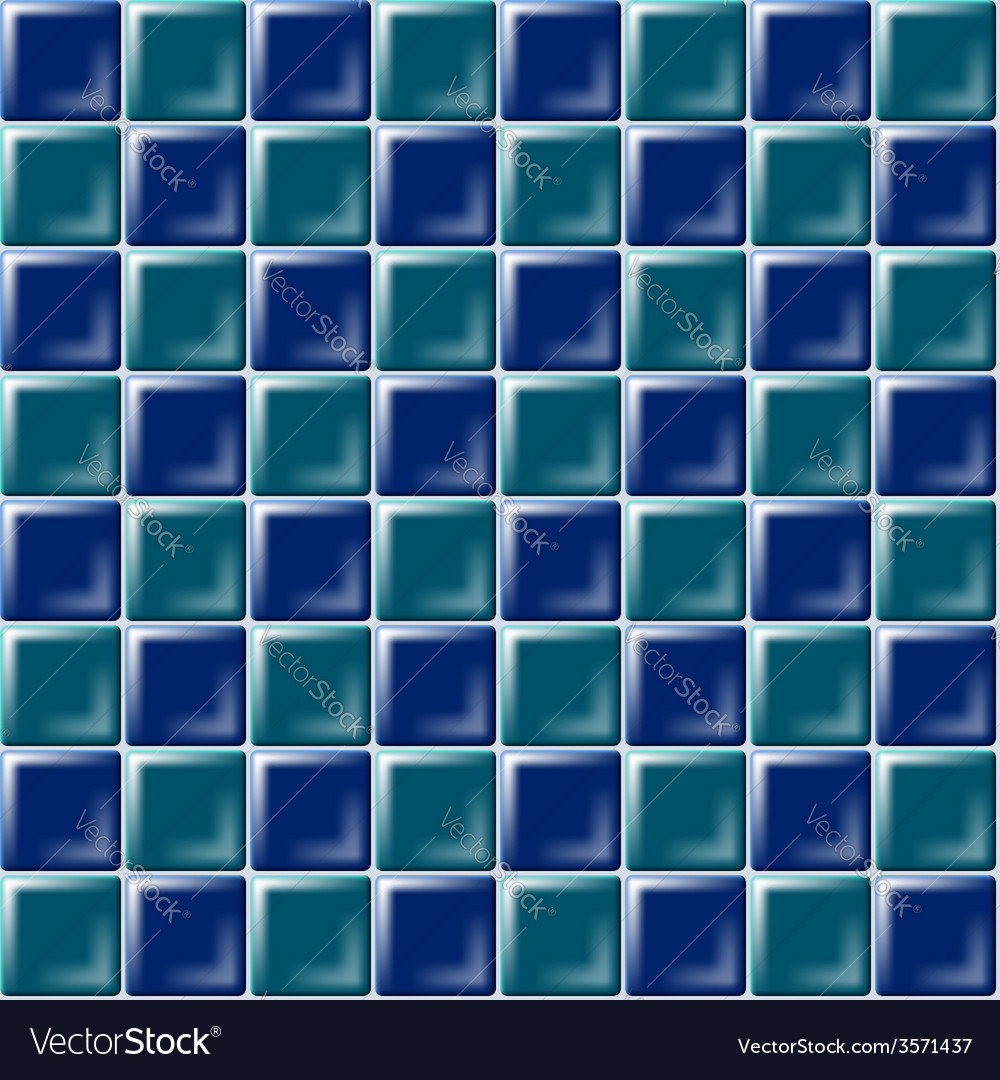 Seamless pattern with ceramic tiles vector | Price: 1 Credit (USD $1)