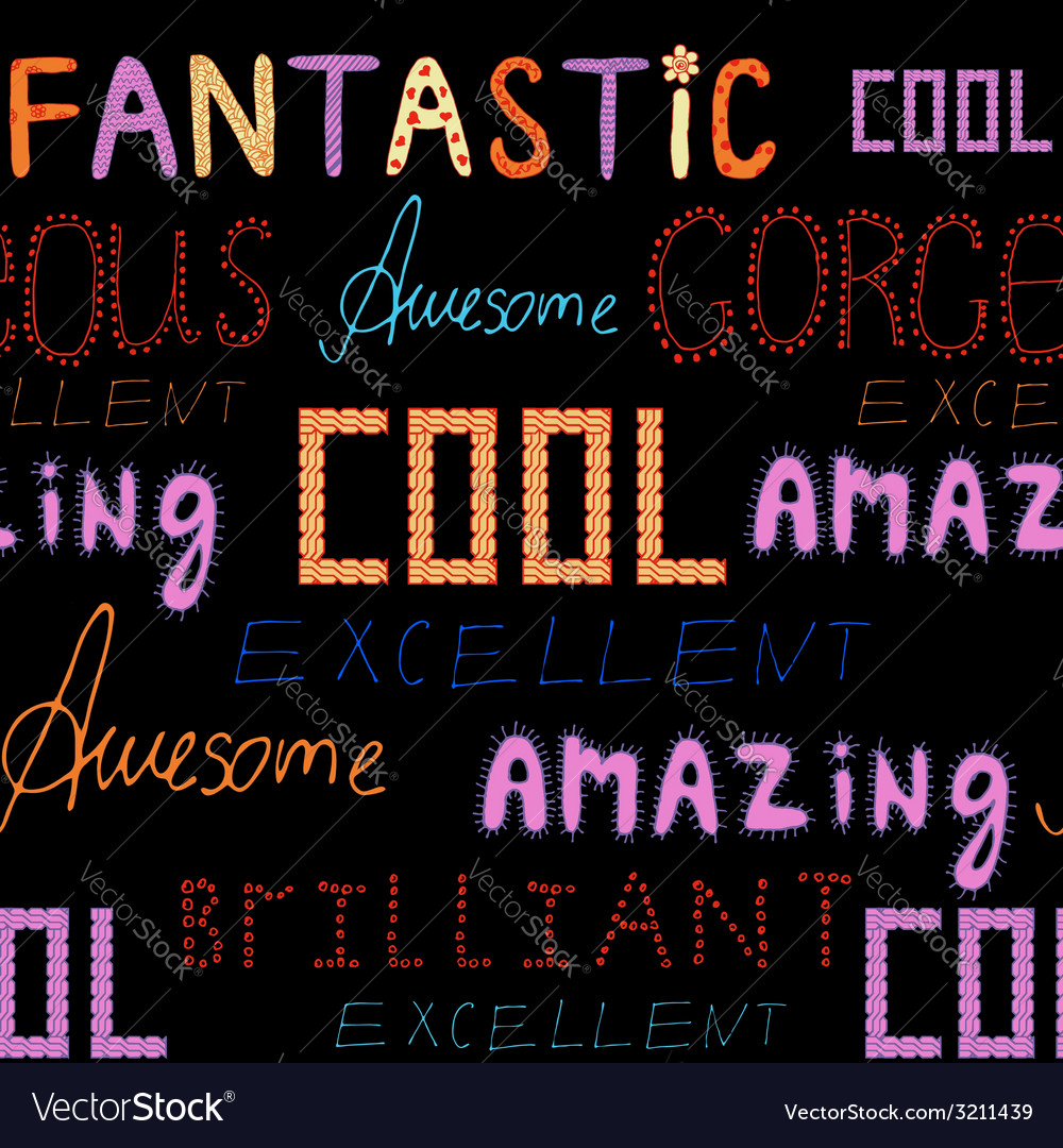 Awesome pattern vector | Price: 1 Credit (USD $1)
