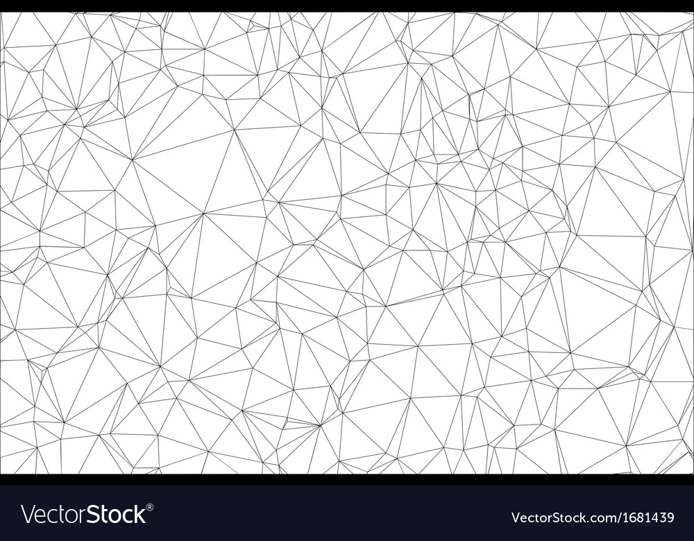 Background black and white polygon vector | Price: 1 Credit (USD $1)