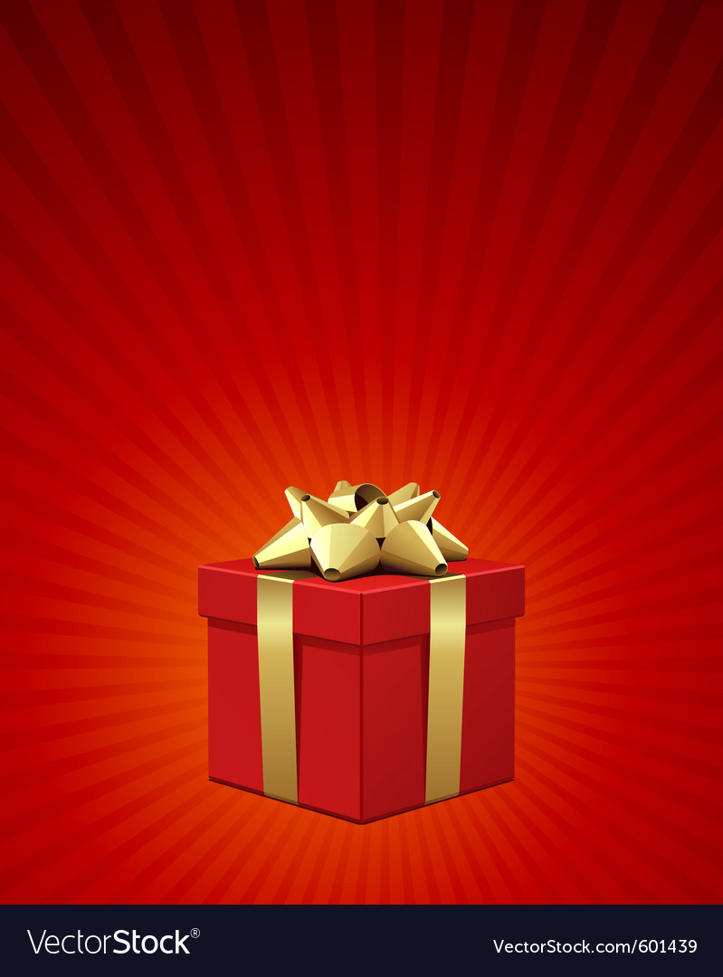 Christmas present background vector   Price: 1 Credit (USD $1)