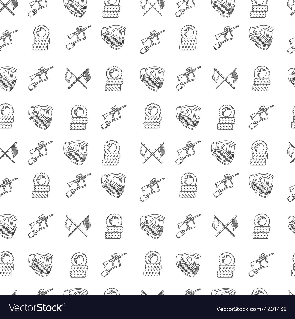 Monochrome background for paintball vector | Price: 1 Credit (USD $1)