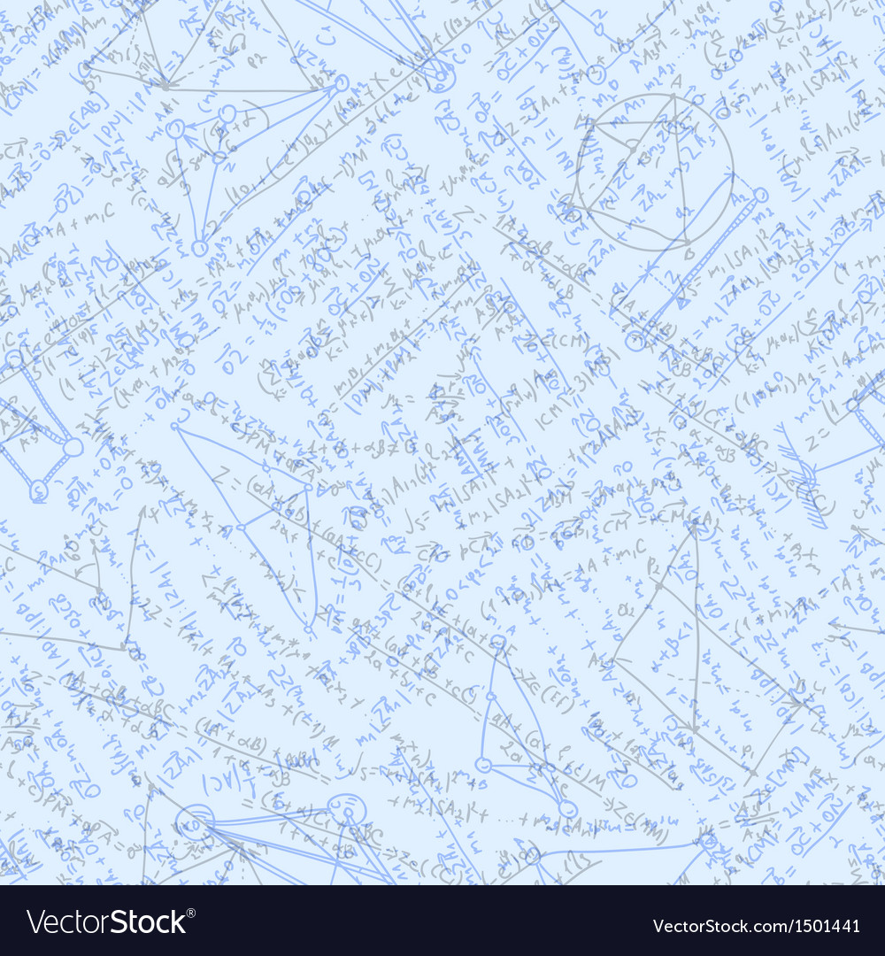 Algebra doodle background eps 10 vector | Price: 1 Credit (USD $1)