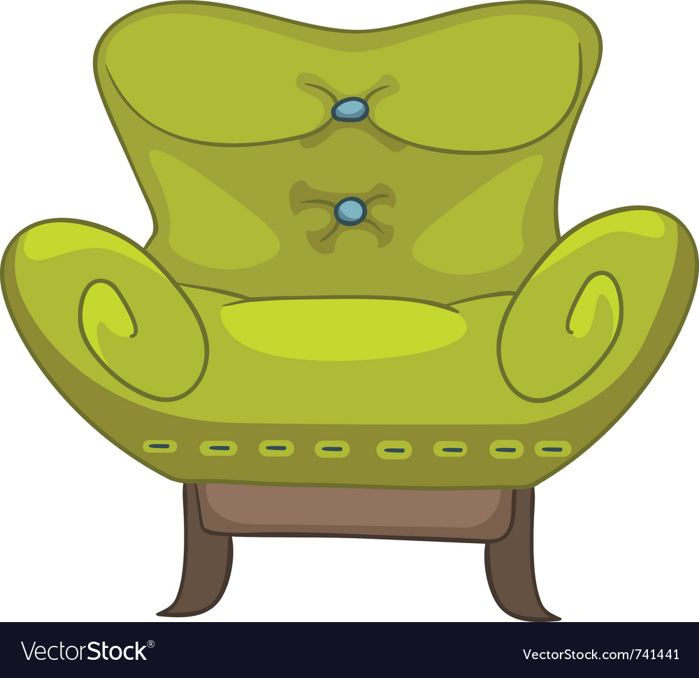 Cartoon home furniture chair vector | Price: 1 Credit (USD $1)
