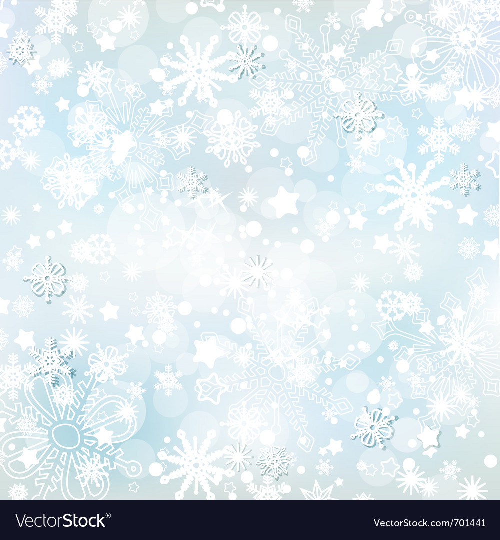 Frosty winter background vector | Price: 1 Credit (USD $1)