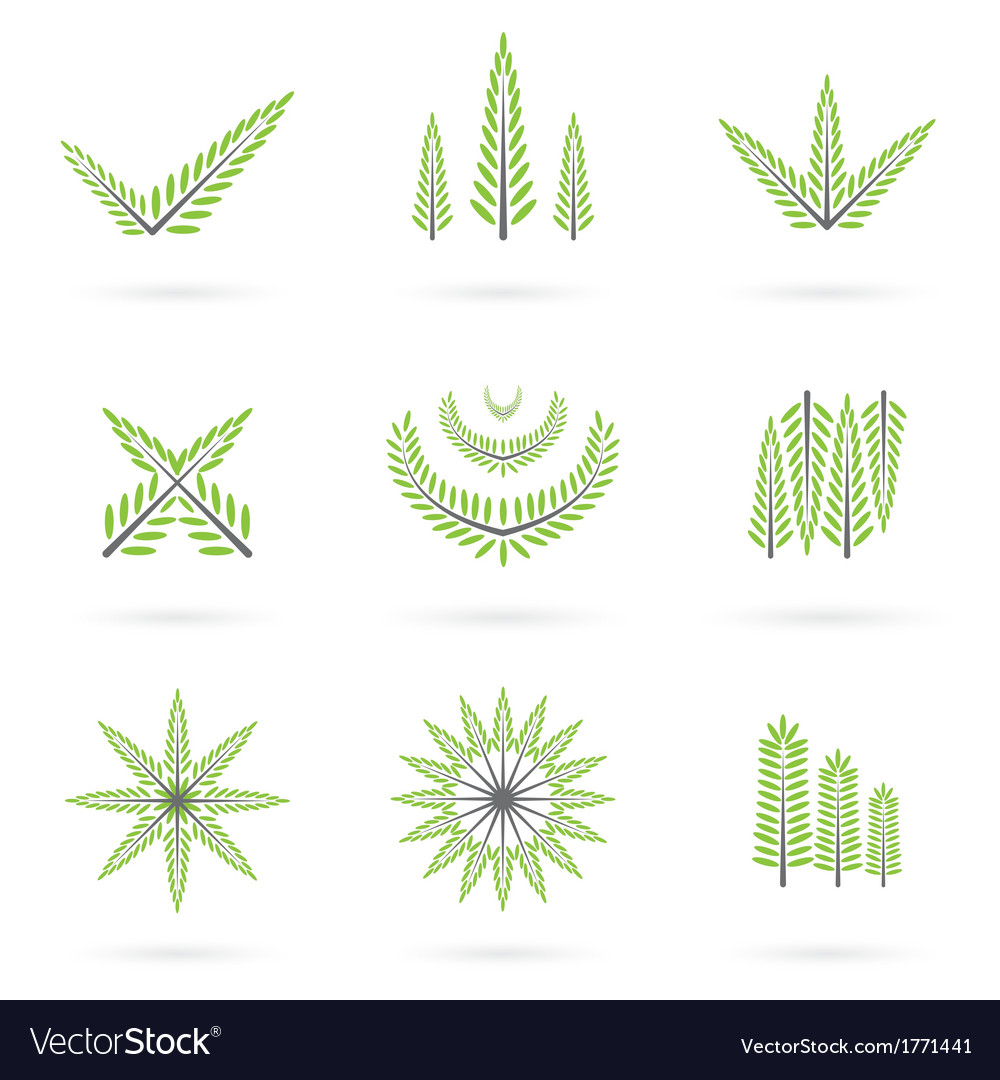 Green symbol design vector | Price: 1 Credit (USD $1)