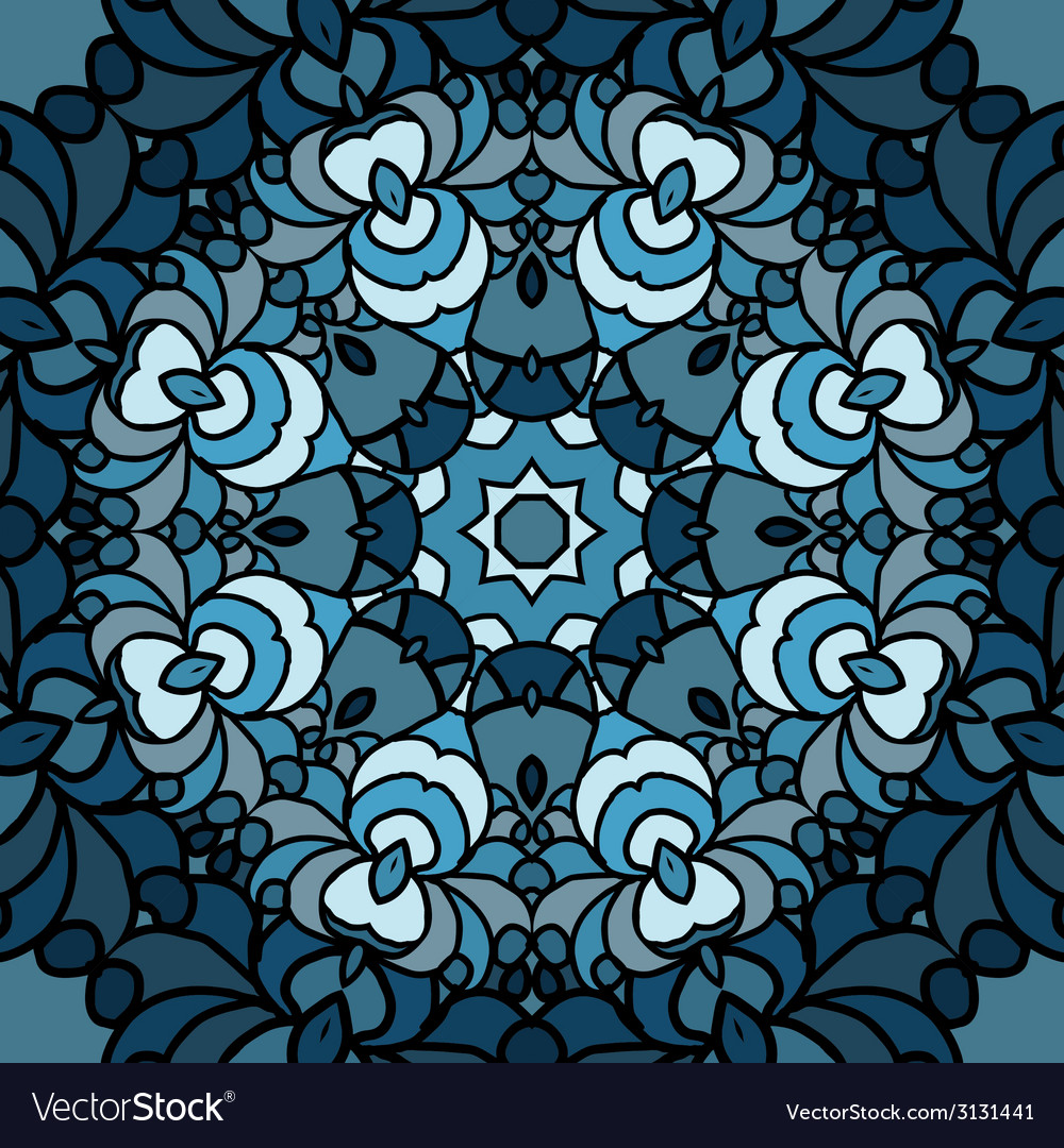With colored circular patterns vector | Price: 1 Credit (USD $1)