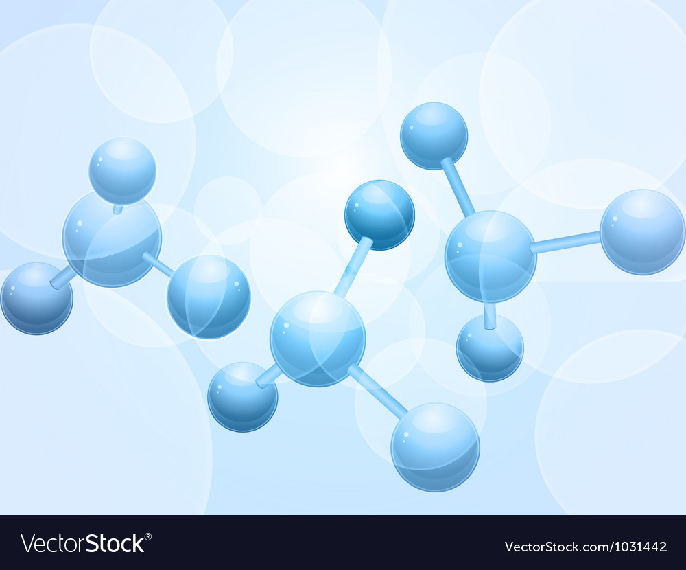 3d molecule background vector | Price: 1 Credit (USD $1)