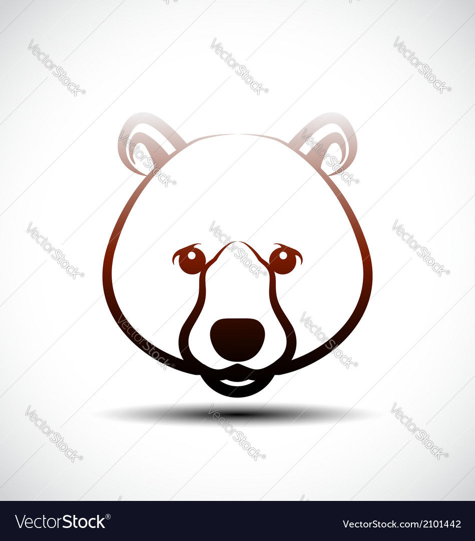 Bear icon vector | Price: 1 Credit (USD $1)