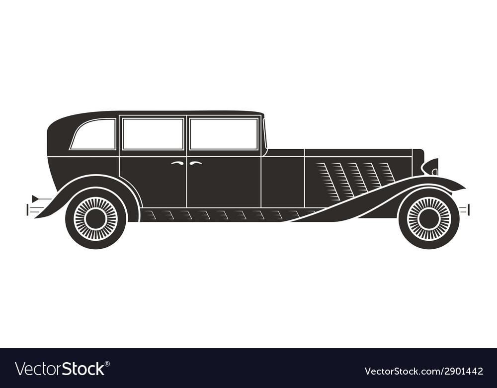 Retro car vintage collection vector | Price: 1 Credit (USD $1)