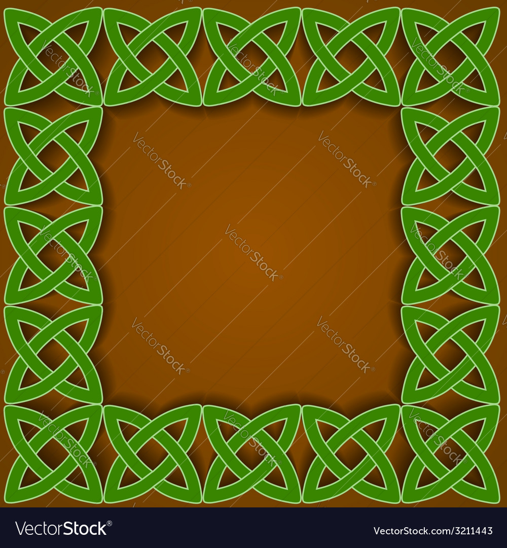 Celtic border vector | Price: 1 Credit (USD $1)