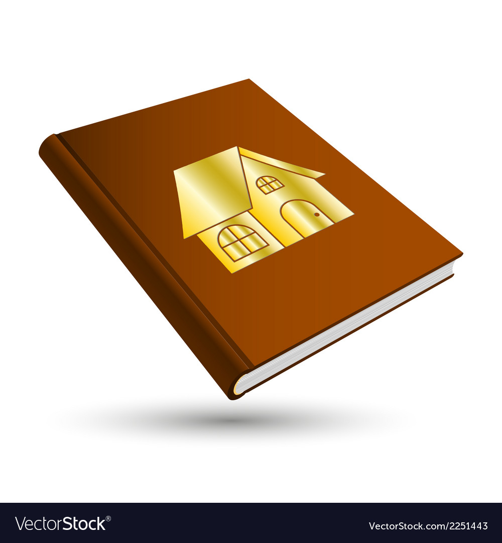 Home book vector | Price: 1 Credit (USD $1)