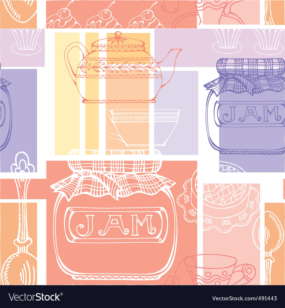 Kitchen pattern vector | Price: 1 Credit (USD $1)