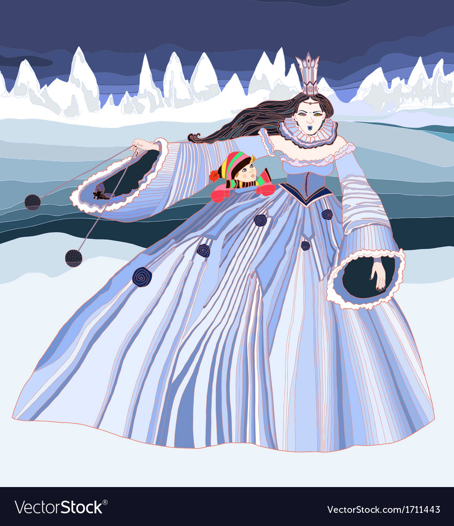 The snow queen vector | Price: 1 Credit (USD $1)