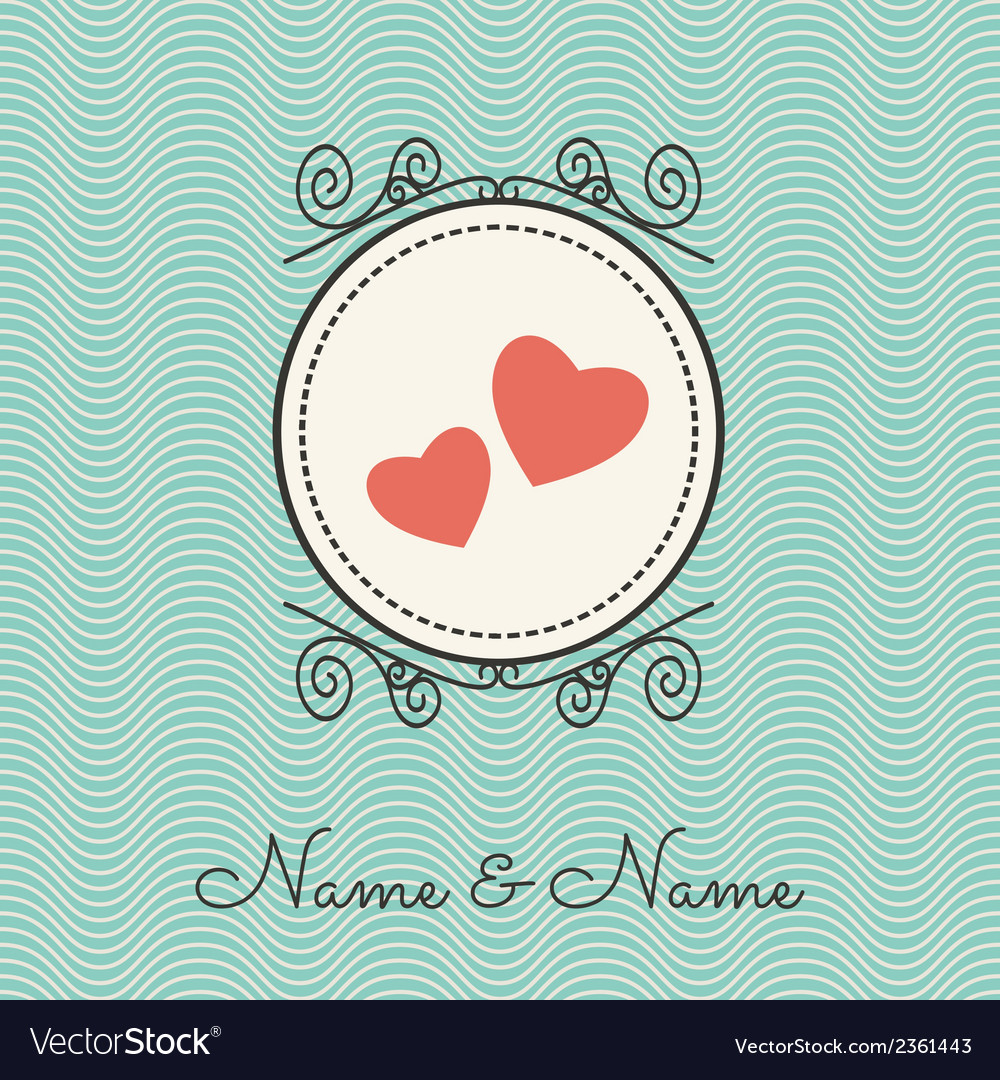 Wedding cards1 vector | Price: 1 Credit (USD $1)