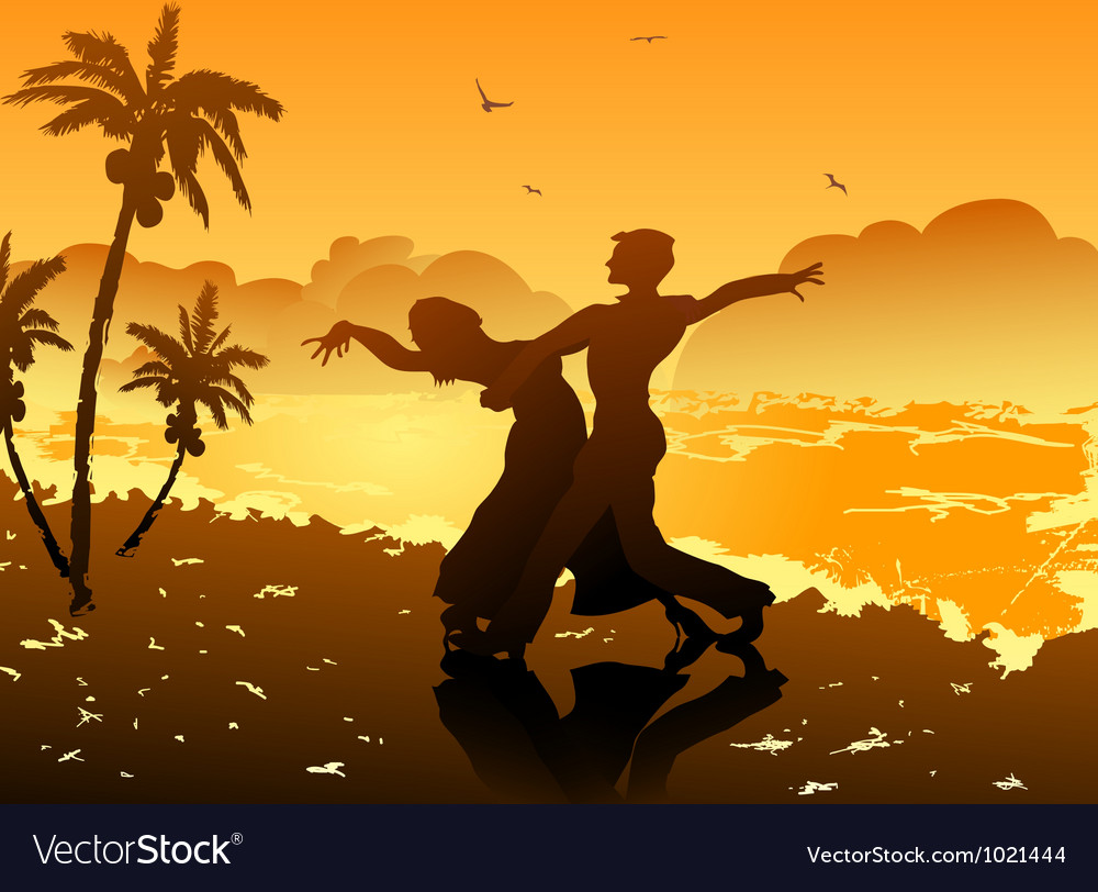 Dancing on the beach vector   Price: 1 Credit (USD $1)