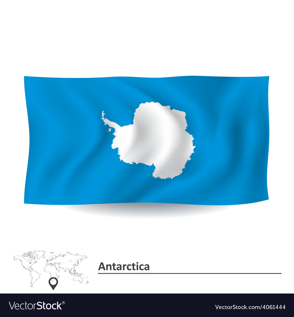 Flag of antarctica vector | Price: 1 Credit (USD $1)
