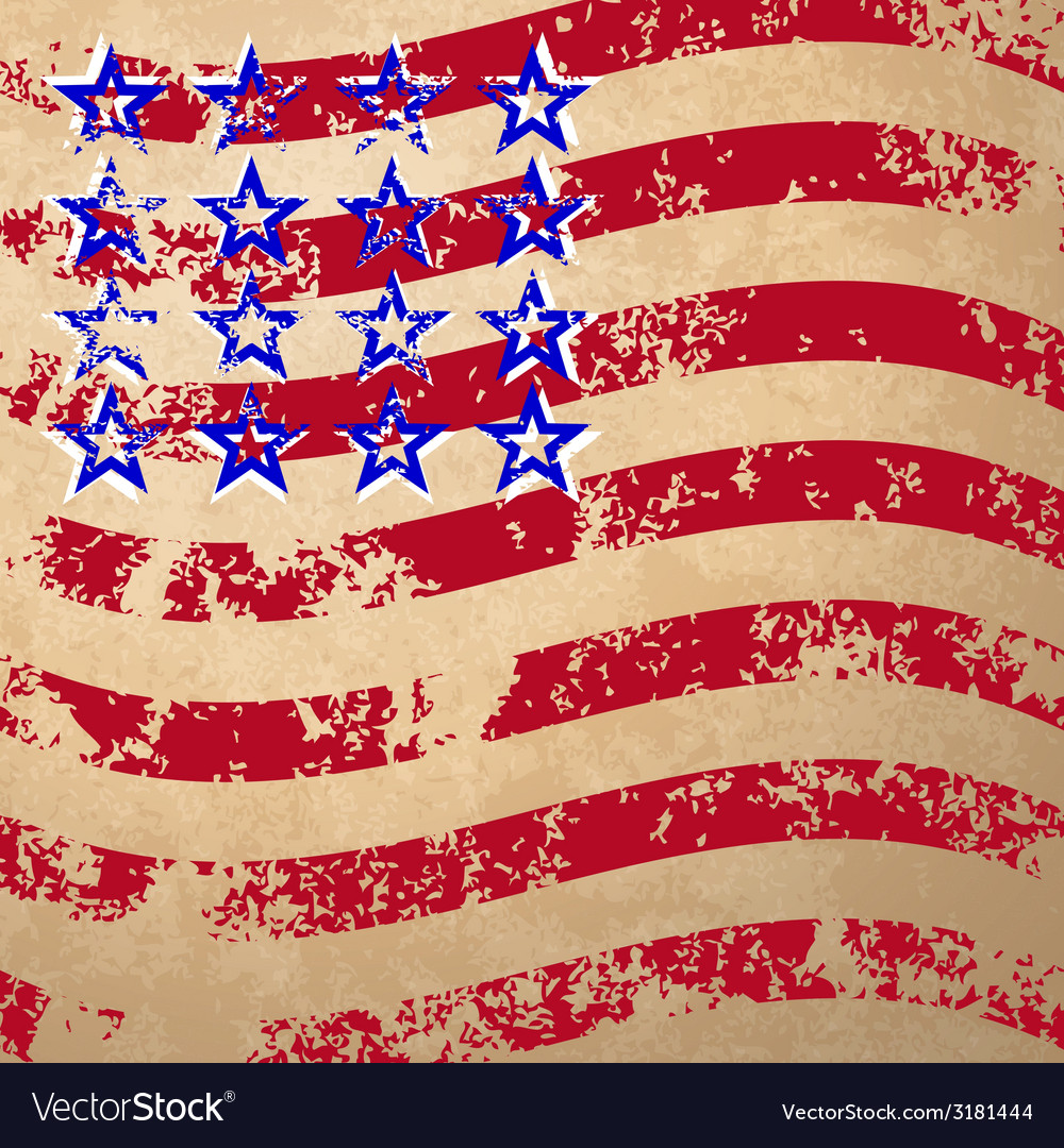 Grunge striped flag vector | Price: 1 Credit (USD $1)