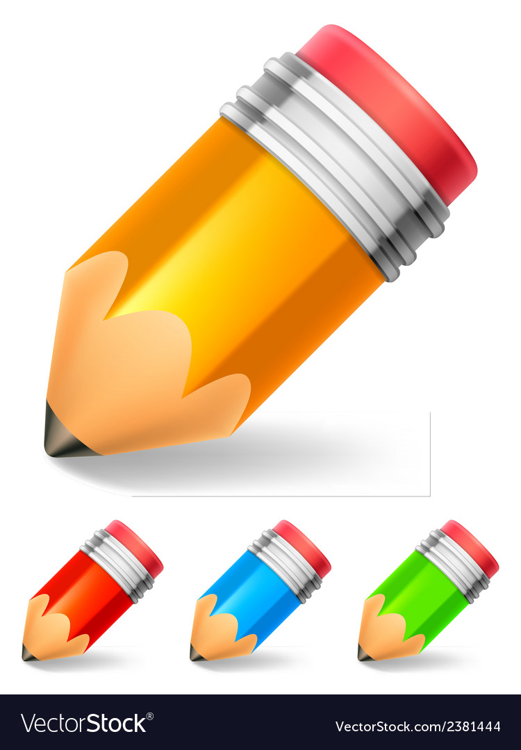Little pencil vector | Price: 1 Credit (USD $1)