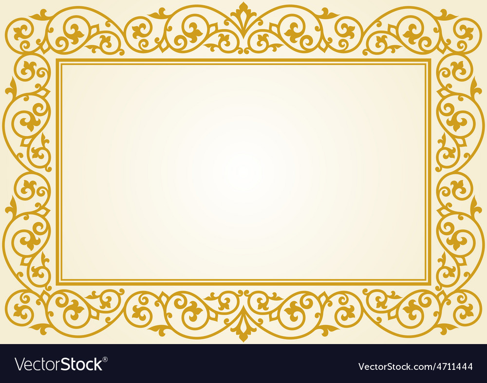 Russian traditional carving ornament vector | Price: 1 Credit (USD $1)