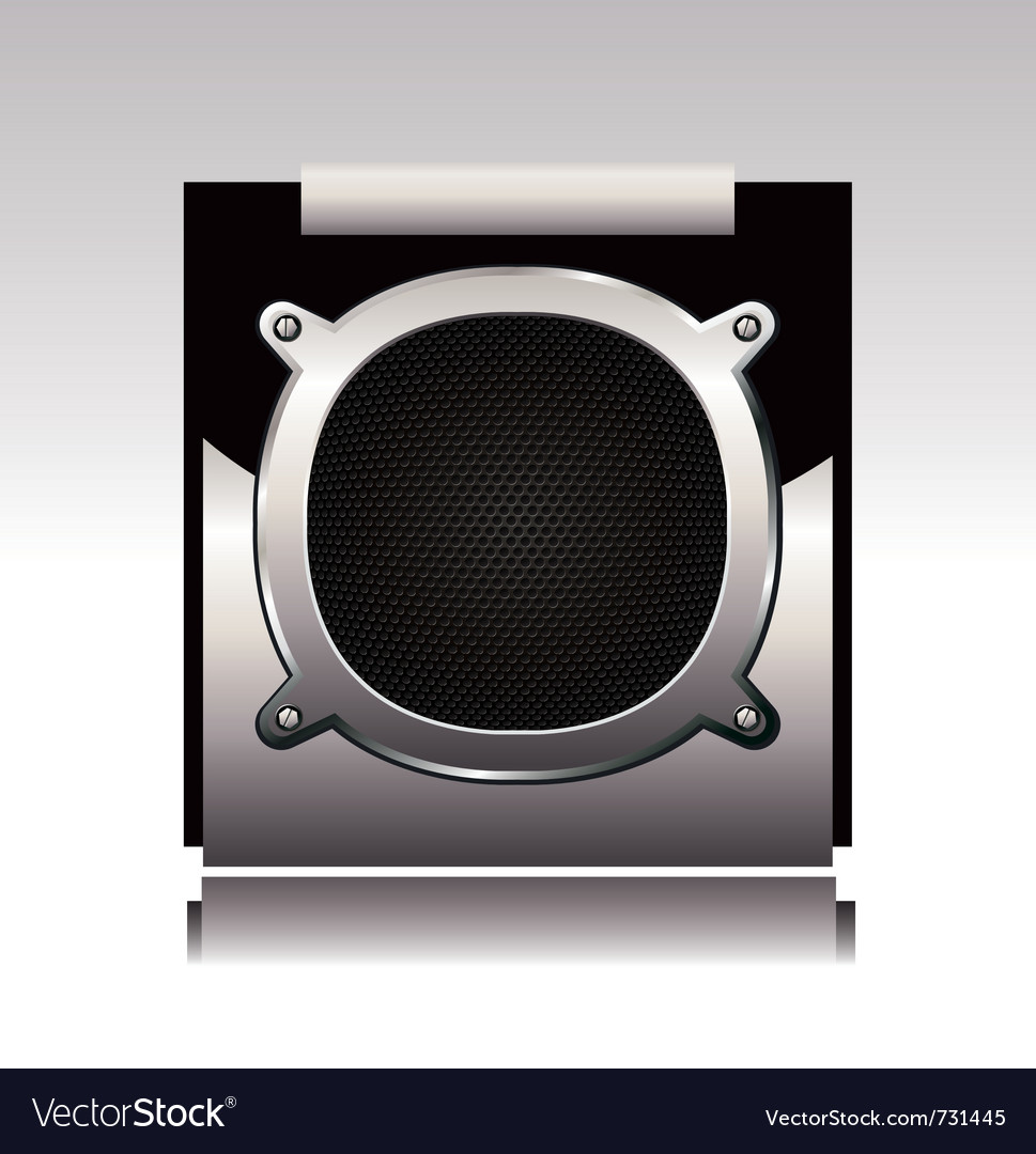 Subwoofer vector | Price: 1 Credit (USD $1)