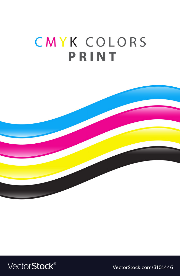 Cmyk print color vector | Price: 1 Credit (USD $1)