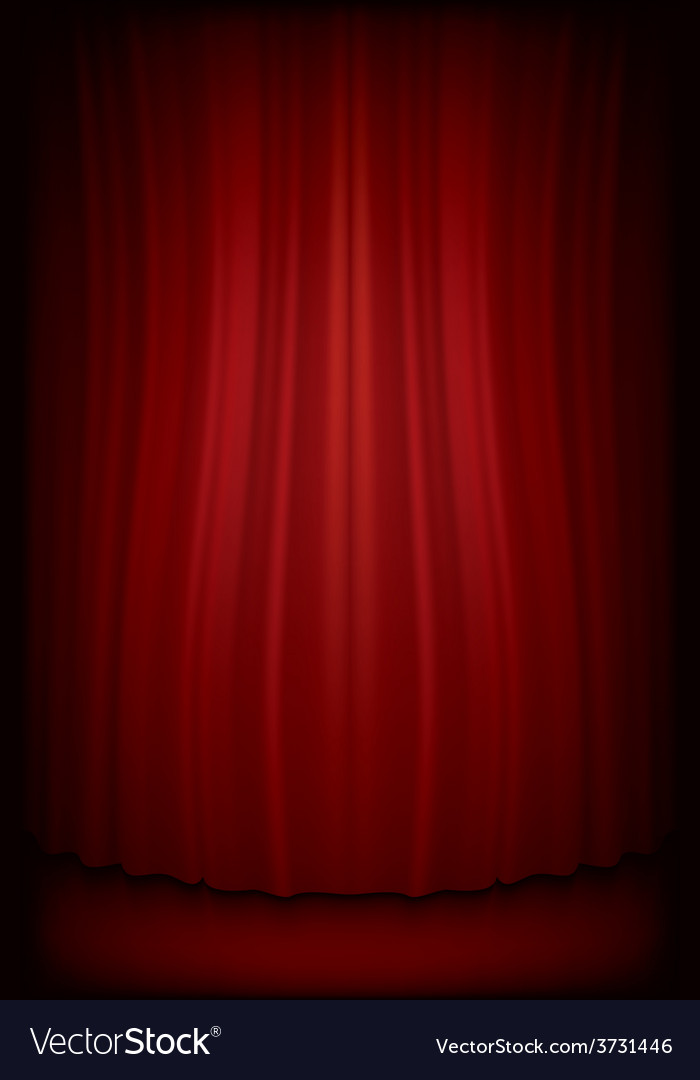 Red curtain vector   Price: 1 Credit (USD $1)