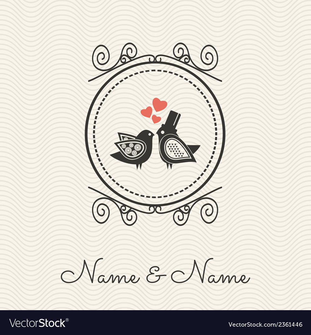 Wedding cards2 vector | Price: 1 Credit (USD $1)
