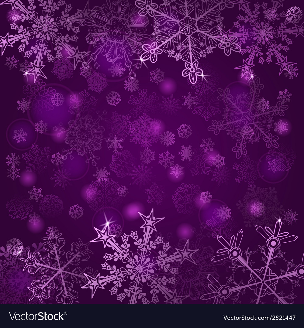 Background of snowflakes vector | Price: 1 Credit (USD $1)