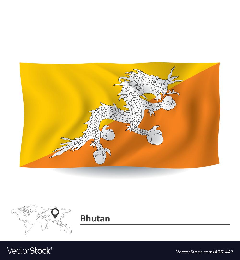 Flag of bhutan vector   Price: 1 Credit (USD $1)