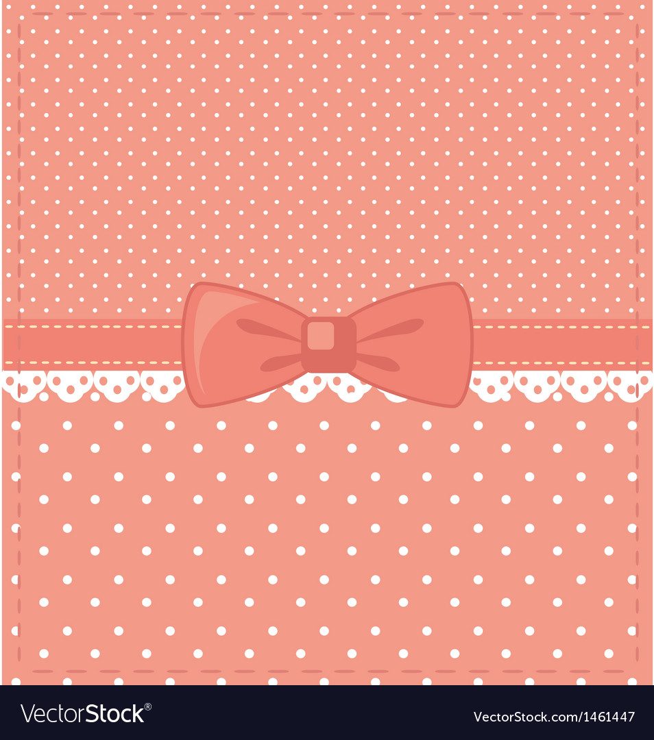 Pink-polka-dots vector | Price: 1 Credit (USD $1)
