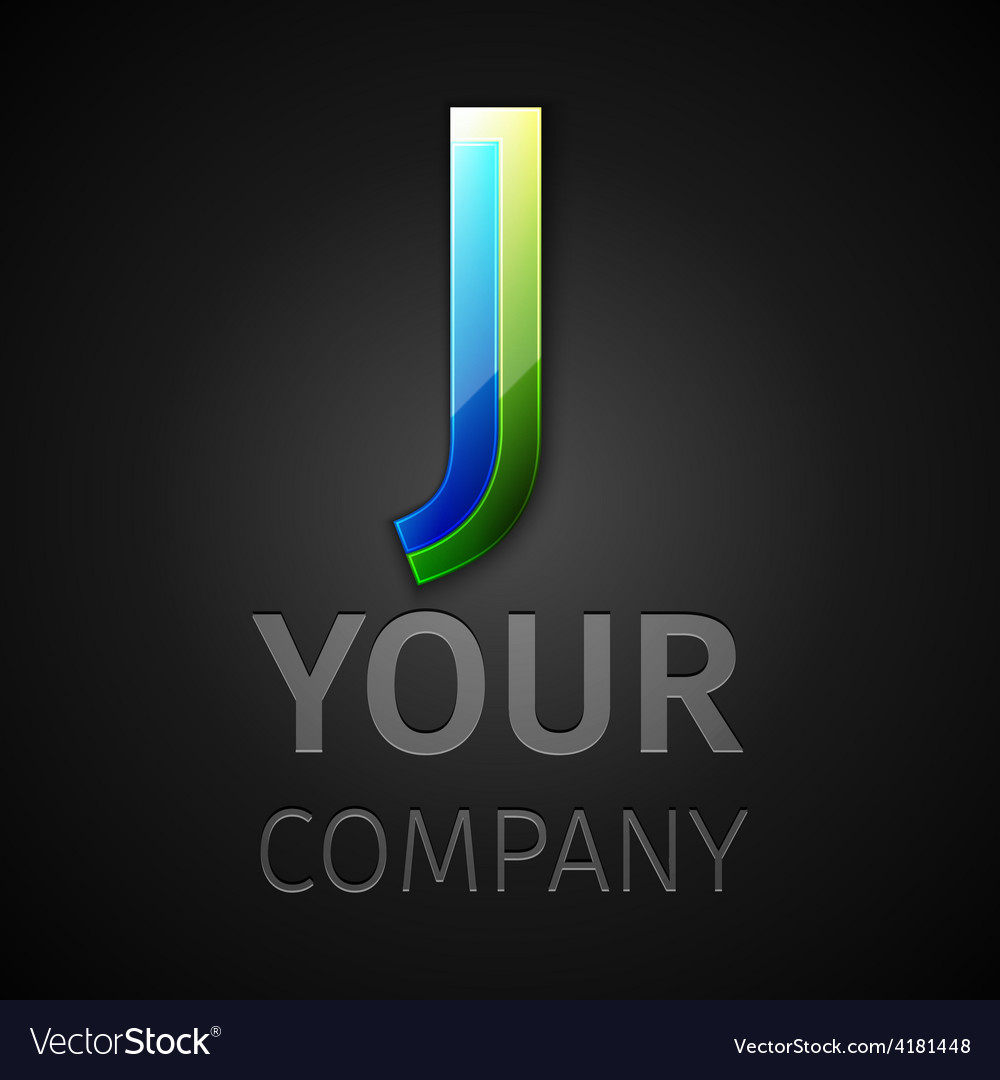Abstract logo letter j vector | Price: 1 Credit (USD $1)