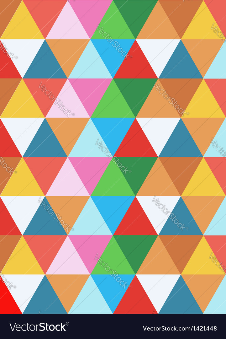 Geometric colorful background vector | Price: 1 Credit (USD $1)
