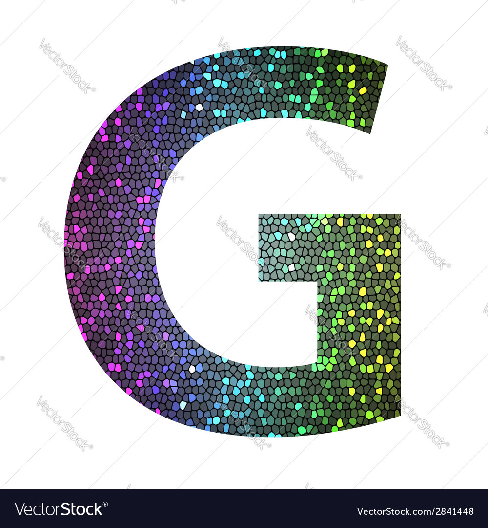 Letter g vector | Price: 1 Credit (USD $1)