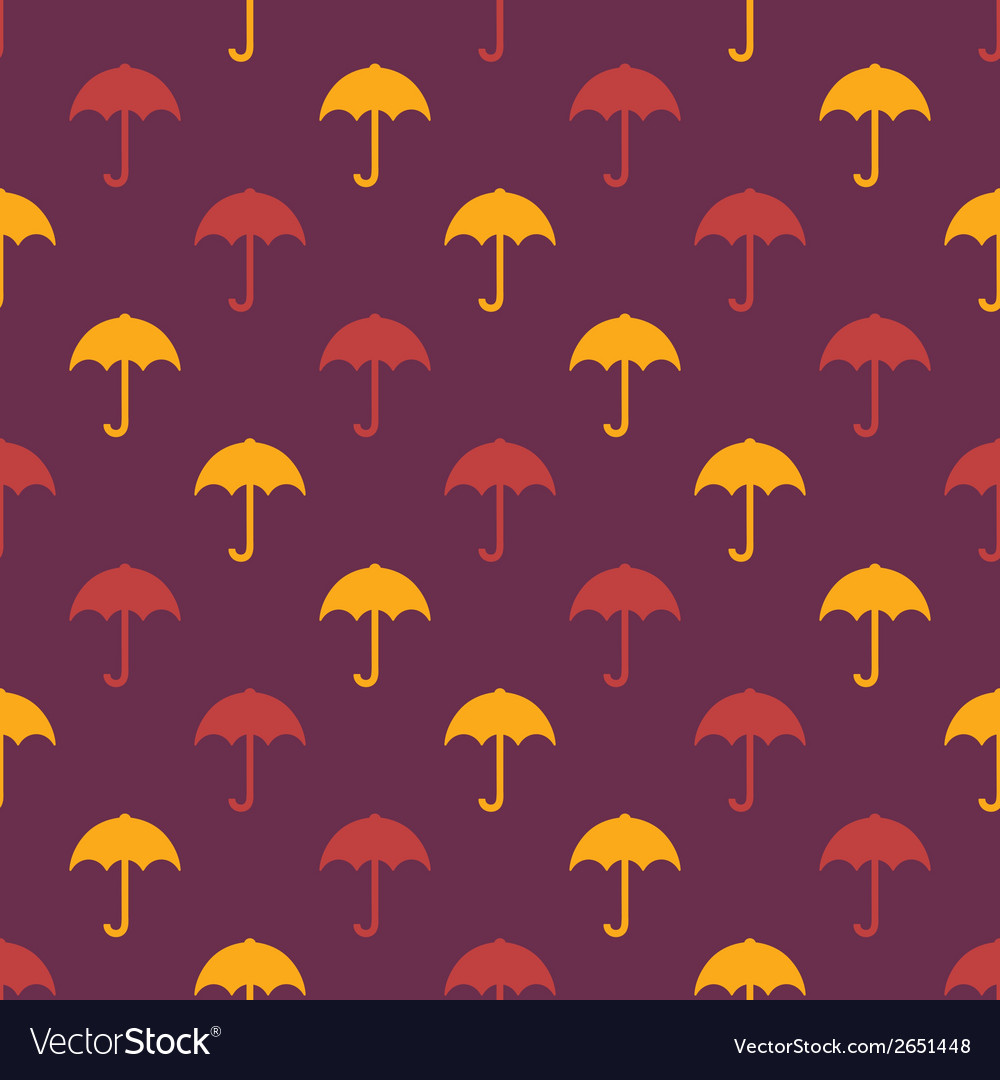 Umbrella pattern vector | Price: 1 Credit (USD $1)