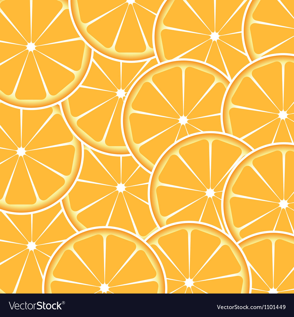 Orange fruit abstract background vector | Price: 1 Credit (USD $1)