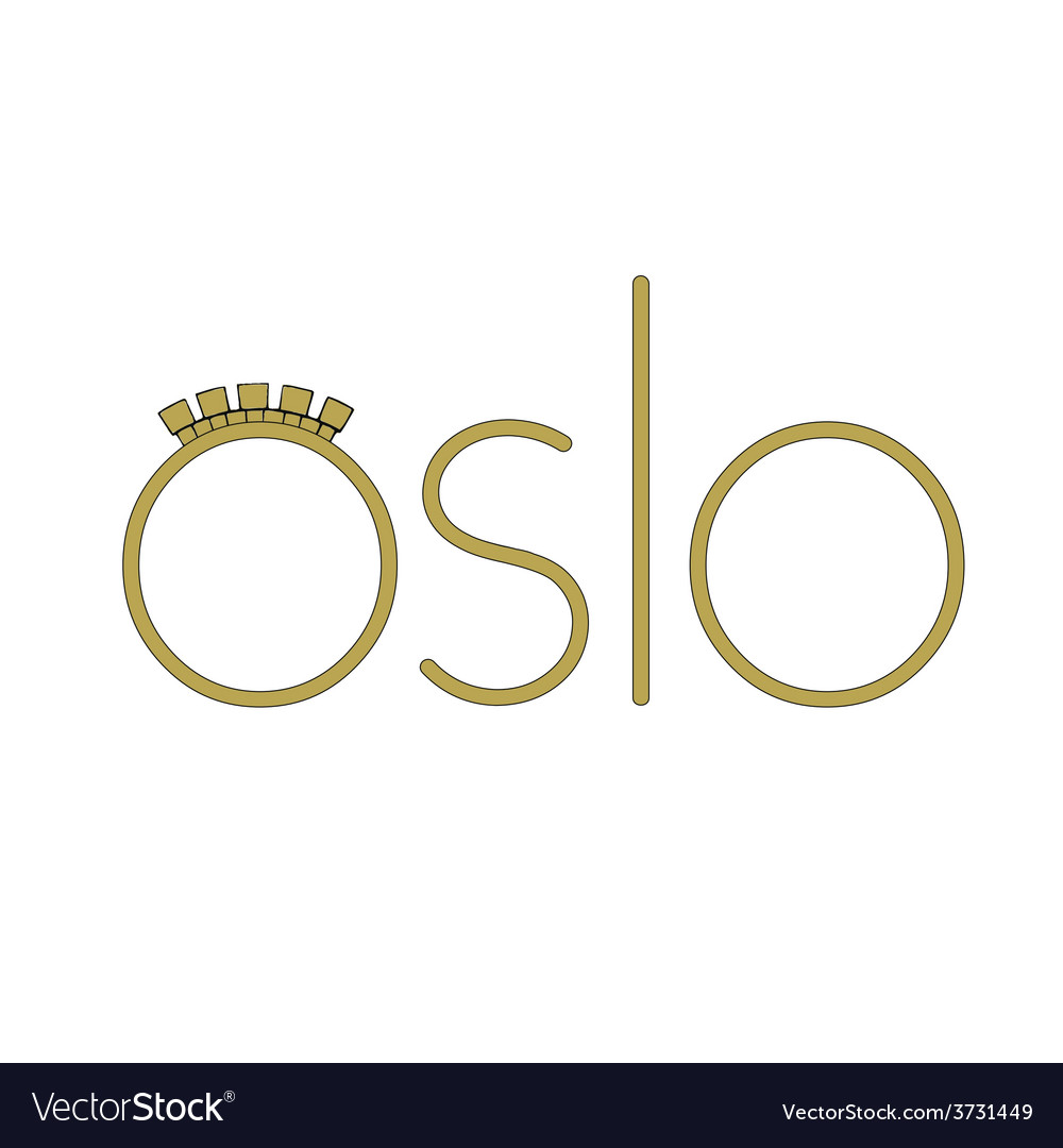 Oslo vector | Price: 1 Credit (USD $1)