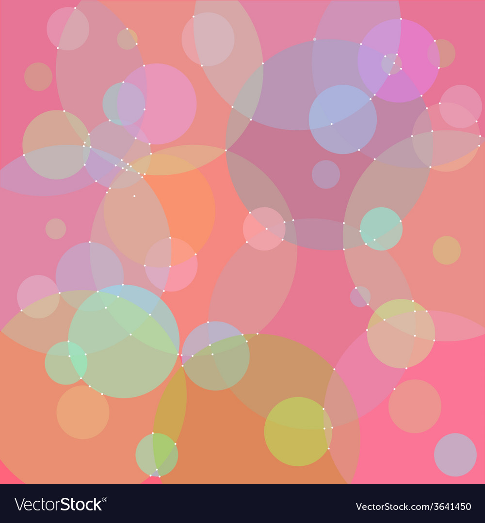 Backgroun circle pink vector