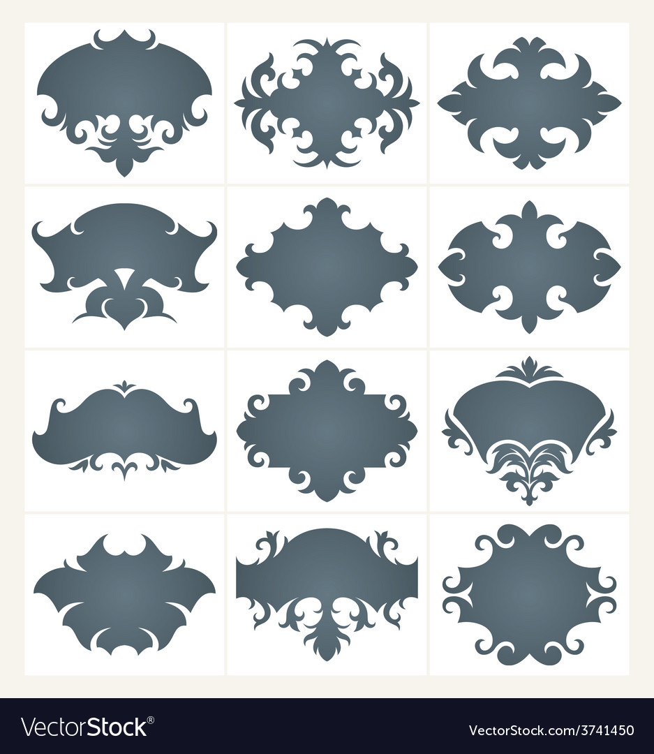 Frame set 01 vector | Price: 1 Credit (USD $1)