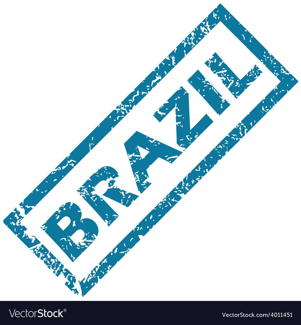 Brazil rubber stamp vector   Price: 1 Credit (USD $1)