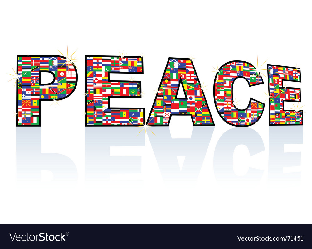 Peace vector | Price: 1 Credit (USD $1)